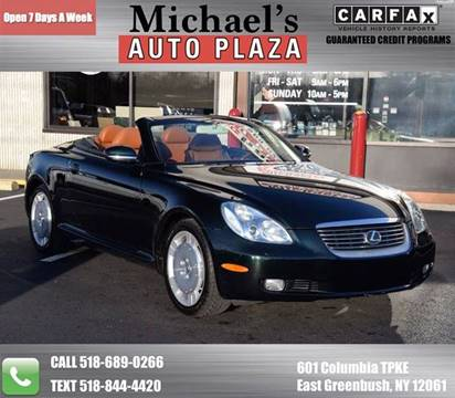 2002 Lexus SC 430 for sale at Michaels Auto Plaza in East Greenbush NY