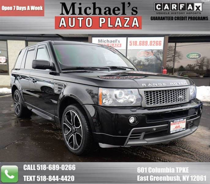 2009 Land Rover Range Rover Sport for sale at Michaels Auto Plaza in East Greenbush NY