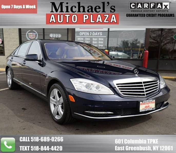 2013 Mercedes-Benz S-Class for sale at Michaels Auto Plaza in East Greenbush NY