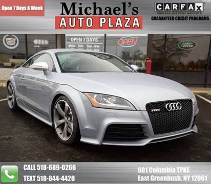 2012 Audi TT RS for sale at Michaels Auto Plaza in East Greenbush NY