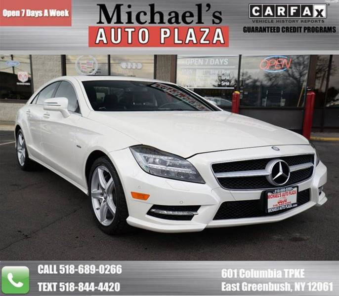 2012 Mercedes-Benz CLS for sale at Michaels Auto Plaza in East Greenbush NY