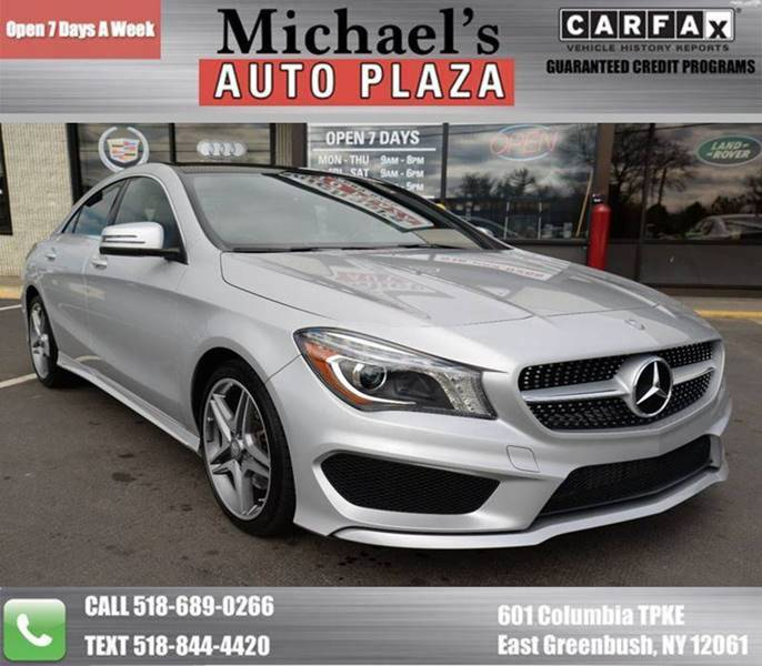 2014 Mercedes-Benz Cla Cla 250 4matic Awd 4dr Sedan