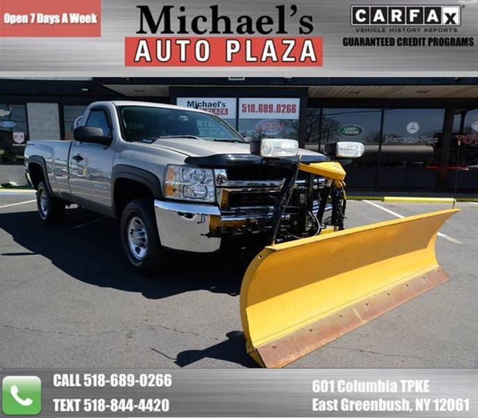 2008 Chevrolet Silverado 2500HD Work Truck 4wd 2dr Regular Cab Lb