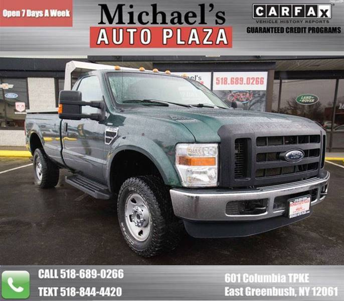 2009 Ford F-350 Super Duty Xl 4x4 2dr Regular Cab 8 Ft. Lb Srw