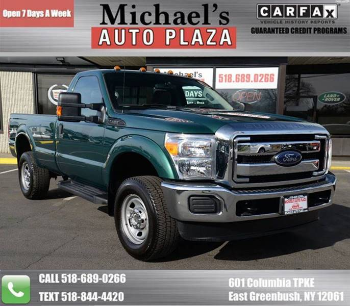 2016 Ford F-350 Super Duty Xl 4x4 2dr Regular Cab 8 Ft. Lb Srw Pickup