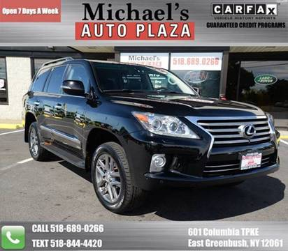 2013 Lexus LX 570 for sale at Michaels Auto Plaza in East Greenbush NY
