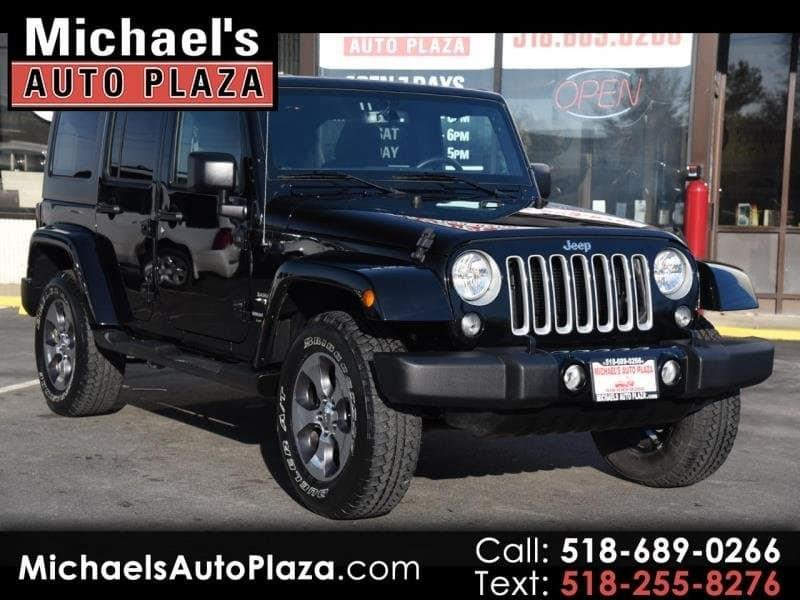 2018 Jeep Wrangler Unlimited Unlimited Sahara 4wd