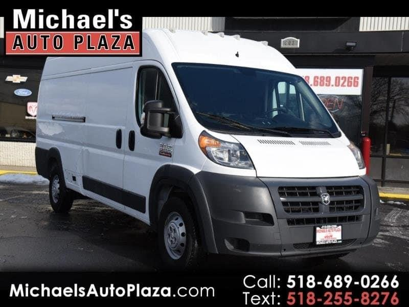 2016 Ram Promaster Cargo 3500 159 Wb 3dr High Roof Extended Cargo Van