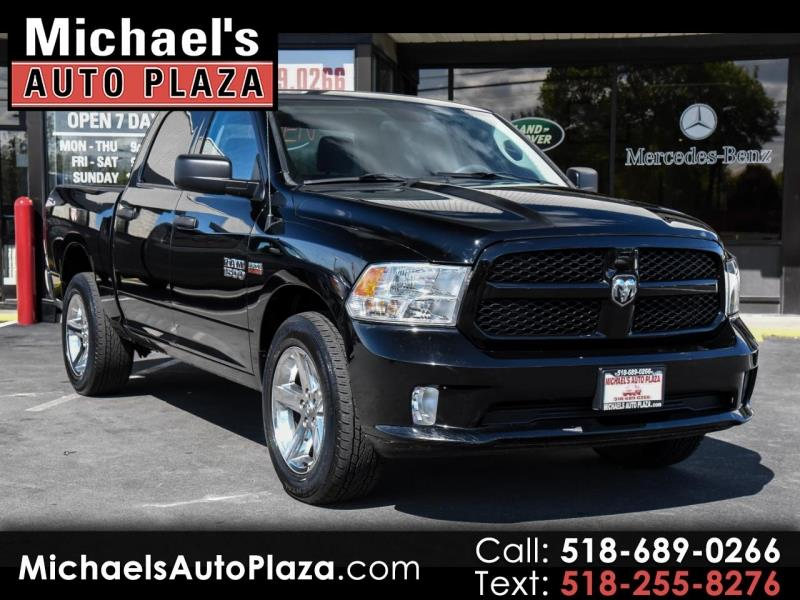 2014 Ram Ram Pickup 1500 Express 4x4 Crew Cab 5 Ft7 In Box