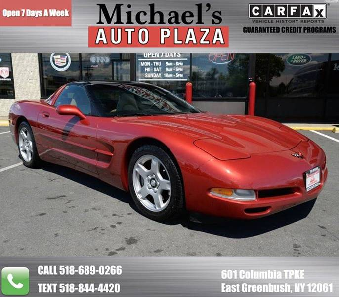 1998 CHEVROLET CORVETTE BASE 2DR HATCHBACK red take a look at this one owner clean carfax 1998 ch