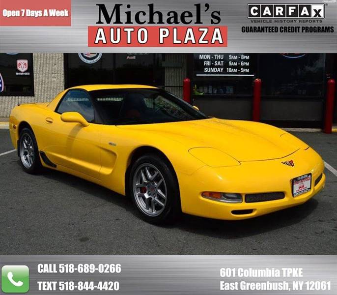 2002 CHEVROLET CORVETTE Z06 2DR COUPE yellow take a look at this 2002 chevrolet corvette z06 with