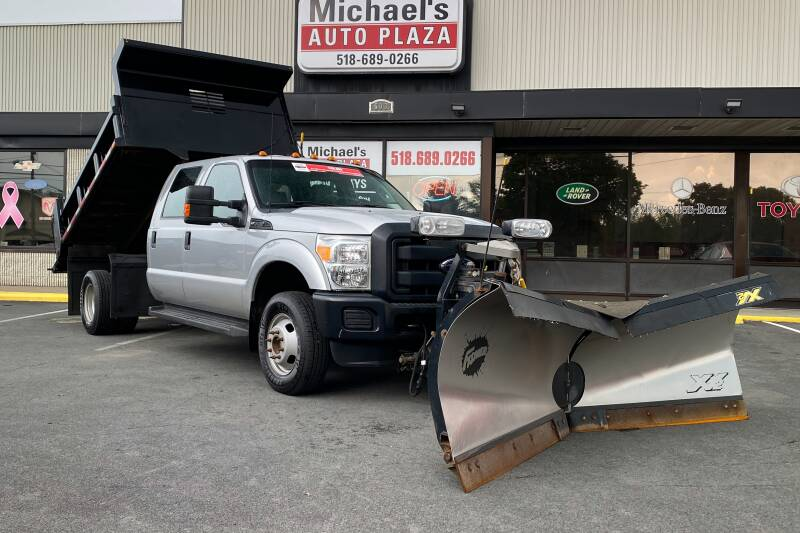 2015 Ford F-350 Super Duty 4x4 XL 4dr Crew Cab 176 in. WB DRW Chassis - East Greenbush NY