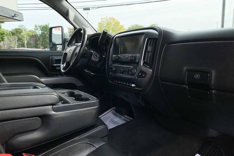 2017 Chevrolet Silverado 2500HD LTZ - East Greenbush NY