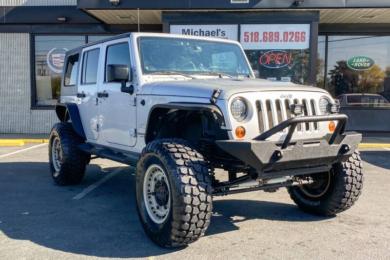 2009 Jeep Wrangler Unlimited 4x4 Sahara 4dr SUV w/ Front Side Airbags - East Greenbush NY