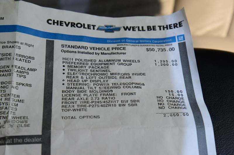 2004 Chevrolet Corvette 2dr Convertible - East Greenbush NY