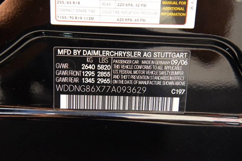 2007 Mercedes-Benz S-Class S 550 4MATIC AWD 4dr Sedan - East Greenbush NY