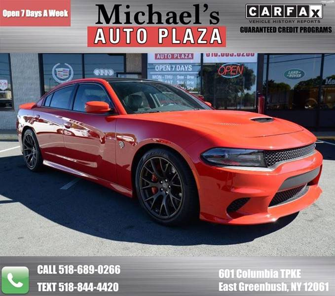 2016 Dodge Charger for sale at Michaels Auto Plaza in East Greenbush NY
