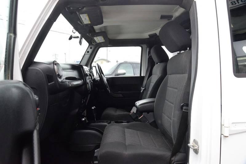 2011 Jeep Wrangler Unlimited 4x4 Sport RHD 4dr SUV - East Greenbush NY