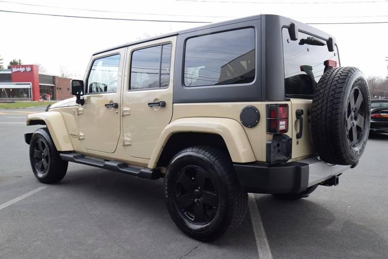 2012 Jeep Wrangler Unlimited 4x4 Sahara 4dr SUV - East Greenbush NY