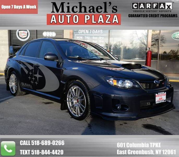 2011 Subaru Impreza AWD WRX STI Limited 4dr Sedan - East Greenbush NY