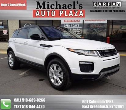 2017 Land Rover Range Rover Evoque for sale at Michaels Auto Plaza in East Greenbush NY