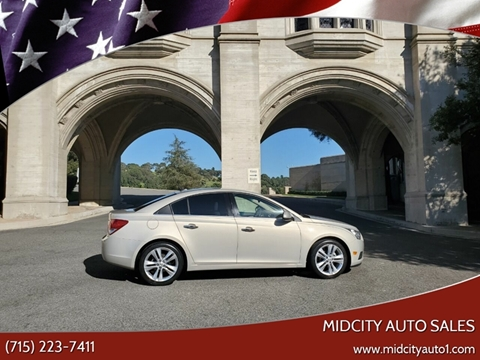 2011 Chevrolet Cruze for sale in Athens, WI