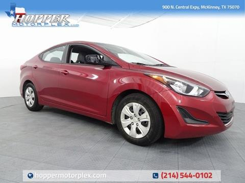 2016 Hyundai Elantra for sale in Mckinney, TX