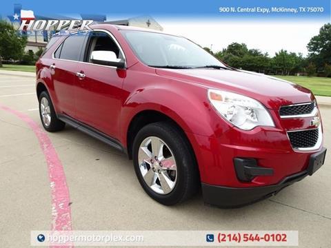 Chevrolet Equinox For Sale In Mckinney Tx Hopper Motorplex