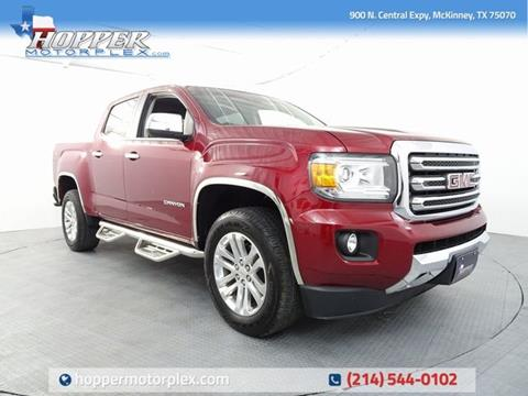 2018 GMC Canyon for sale in Mckinney, TX