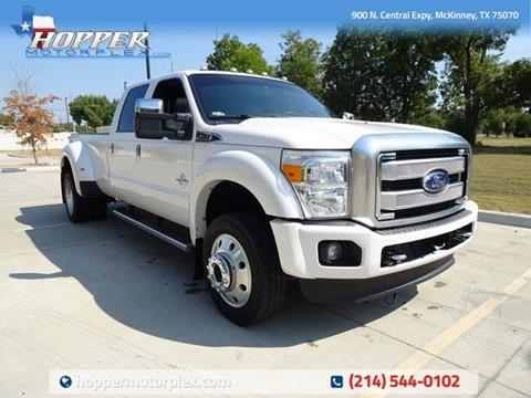 2016 Ford F-450 Super Duty for sale in Mckinney, TX