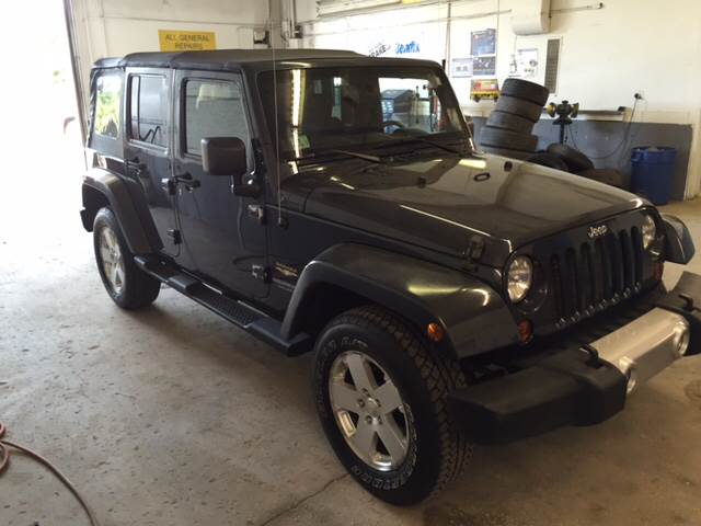 2008 Jeep Wrangler Unlimited 4x4 Sahara 4dr SUV - Middleboro MA