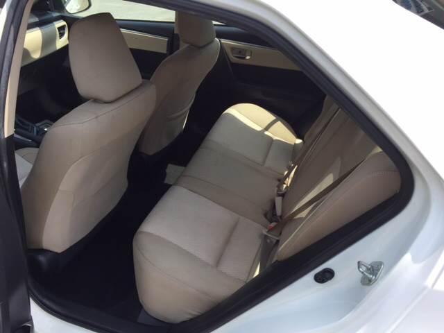 2015 Toyota Corolla LE Plus 4dr Sedan - Middleboro MA