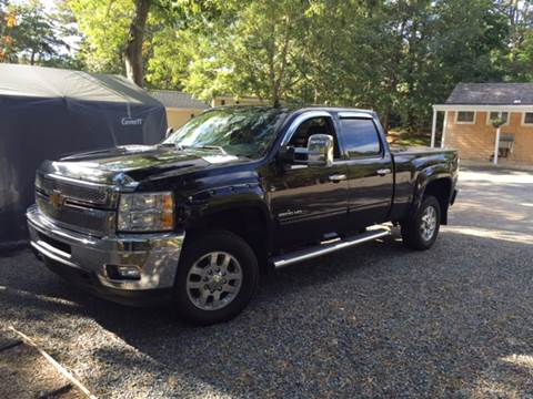 2011 Chevrolet Silverado 2500HD for sale at Topham Automotive Inc. in Middleboro MA