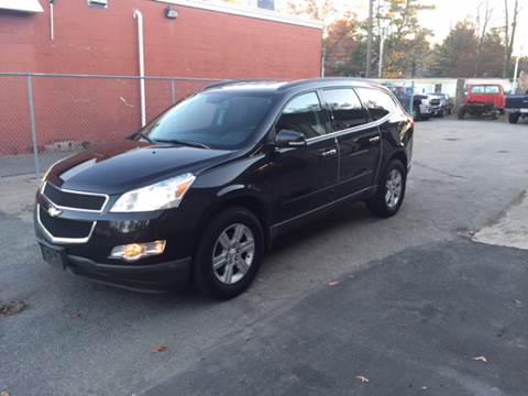 2012 Chevrolet Traverse for sale at Topham Automotive Inc. in Middleboro MA