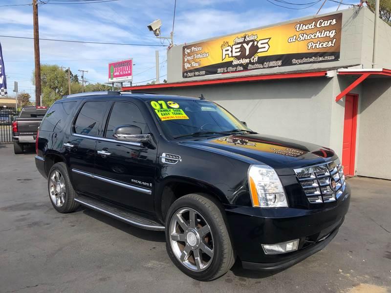 2007 Cadillac Escalade 4dr SUV In Modesto CA - Rey's Auto Sales