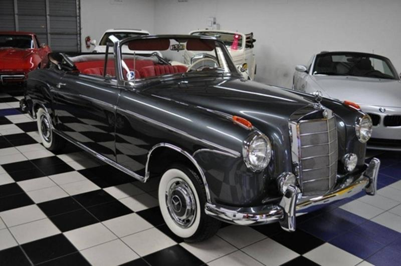 1960 Mercedes Benz 220SE   Pompano Beach FL