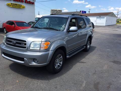2004 Toyota Sequoia for sale at Kellis Auto Sales in Columbus OH