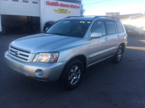 2006 Toyota Highlander for sale at Kellis Auto Sales in Columbus OH