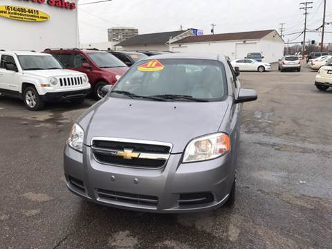 2011 Chevrolet Aveo for sale at Kellis Auto Sales in Columbus OH