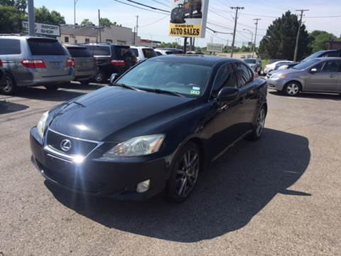 2008 Lexus IS 350 for sale at Kellis Auto Sales in Columbus OH