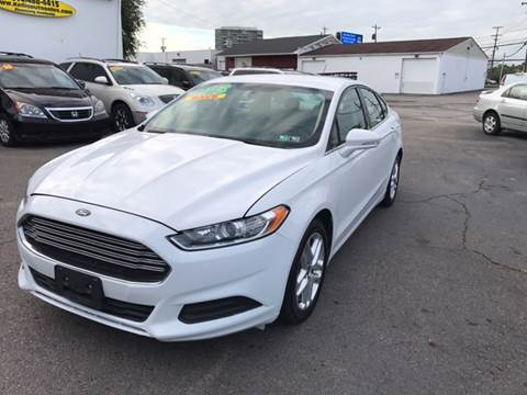 2013 Ford Fusion for sale at Kellis Auto Sales in Columbus OH