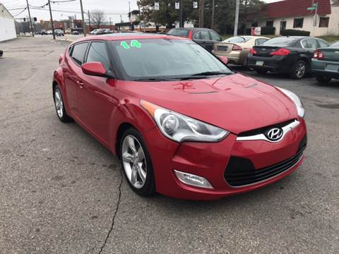 2014 Hyundai Veloster for sale at Kellis Auto Sales in Columbus OH