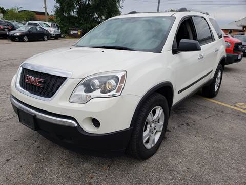 2010 GMC Acadia for sale at Kellis Auto Sales in Columbus OH