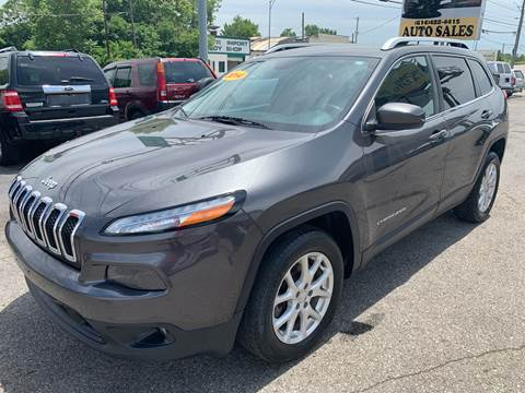 2014 Jeep Cherokee for sale at Kellis Auto Sales in Columbus OH