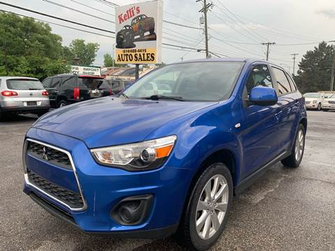2015 Mitsubishi Outlander Sport for sale at Kellis Auto Sales in Columbus OH