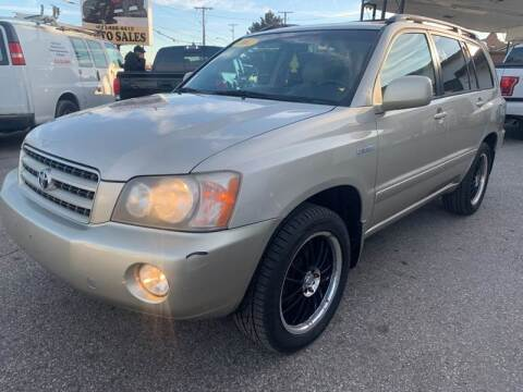 2002 Toyota Highlander for sale at Kellis Auto Sales in Columbus OH