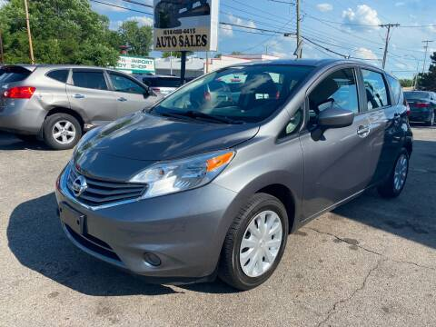 2016 Nissan Versa Note for sale at Kellis Auto Sales in Columbus OH