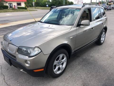 2007 BMW X3 for sale at Kellis Auto Sales in Columbus OH