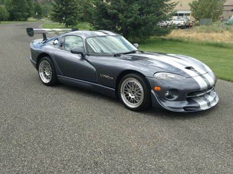 2000 Dodge Viper for sale at Sun Valley Auto Sales in Hailey ID