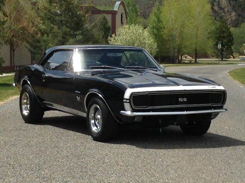 1967 chevrolet camaro ss rs in hailey id sun valley. Black Bedroom Furniture Sets. Home Design Ideas